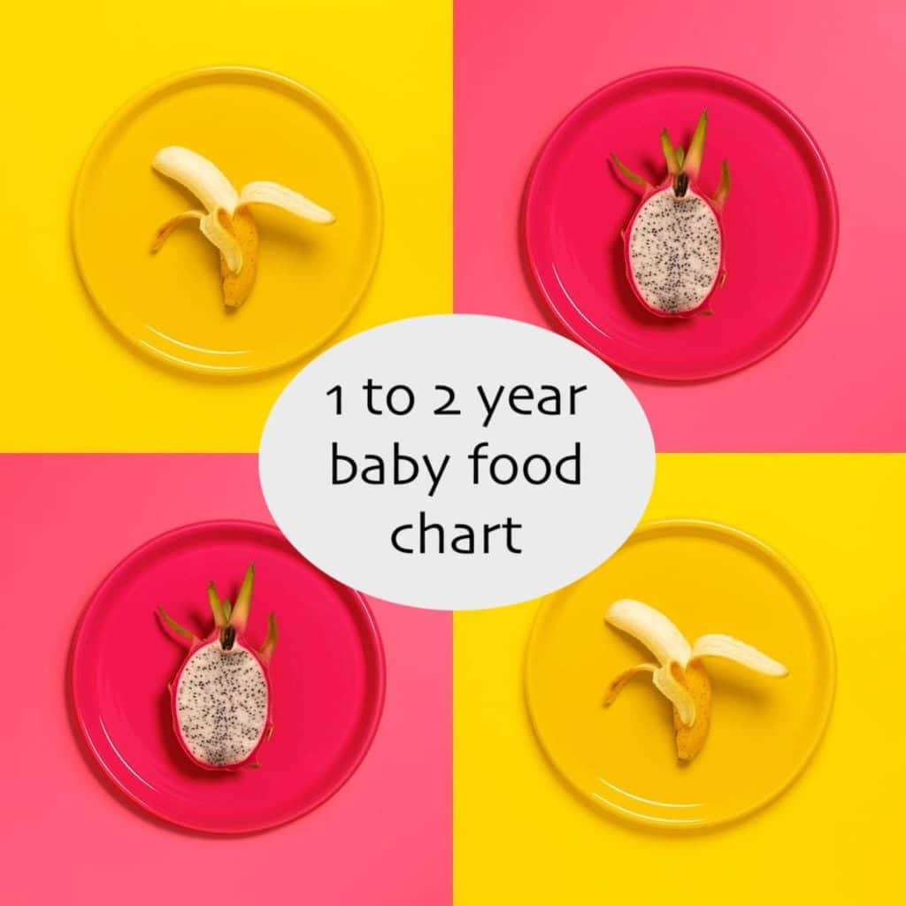 1 to 2 year baby food chart, 1 year baby food chart, 2 years baby food menu, one year baby food, 1 year old baby food, How many meals should a 1 year old have?, balanced diet for 1 year old baby